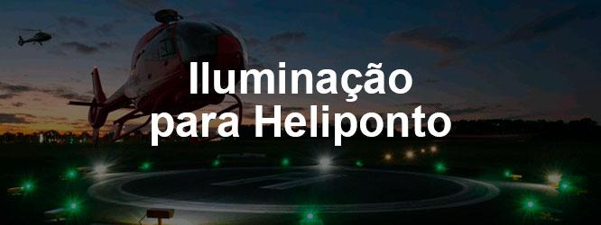 Iluminação para Heliponto