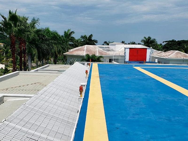 Heliponto - Condomínio Acapulco