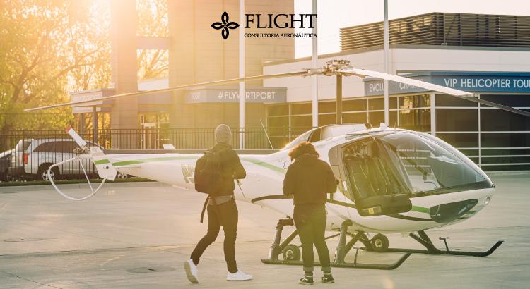 Vai pegar um helicóptero? Veja essas dicas para garantir sua segurança ao se aproximar da aeronave.