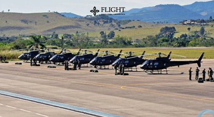 Foto do Aeródromo Militar da Base de Aviação do Taubaté. Fonte: Portal Agora Vale