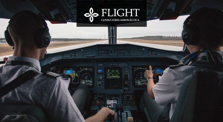 Enquanto um controla diretamente a aeronave, o outro monitora as fases do voo.